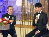 『第40回日本アカデミー賞』の授賞式に出席した(左から)西田敏行、長谷川博己 (C)ORICON NewS inc.