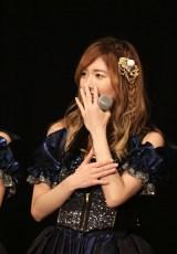 SKE48レギュラー番組決定発表に喜ぶ松井珠理奈(C)AKS