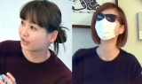 加藤家での朝食コーナーに急きょ出演した(左から)藤本美貴、矢作兼の妻(画像は番組内のもの)