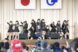 福島県広野町の広野中央体育館でライブ(C)AKS