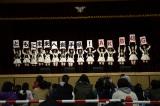 岩手県岩泉町の小本小学校でライブ(C)AKS
