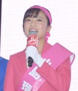 『クロレッツ』のスッキリガム総選挙に出席した小島瑠璃子 (C)ORICON NewS inc.