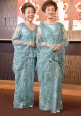 30周年記念コンサートを開催した由紀さおり(左)と安田祥子 (C)ORICON NewS inc.