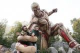 『進撃の巨人・ザ・リアル』等身大 鎧の巨人