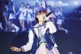 欅坂46「二人セゾン」のカバーでセンターを務めたHKT48宮脇咲良=『つぶやきFES 博欅場所〜GUM ROCK FES2〜』の模様