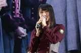 選手宣誓した欅坂46キャプテン菅井友香=『つぶやきFES 博欅場所〜GUM ROCK FES2〜』の模様