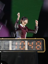「10秒対決」に勝利した欅坂46志田愛佳