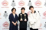 『SPACE SHOWER MUSIC AWARDS』でARTIST OF THE YEARを受賞したRADWIMPS