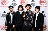 『SPACE SHOWER MUSIC AWARDS』で「PEOPLE'S CHOICE」を受賞した[Alexandros]