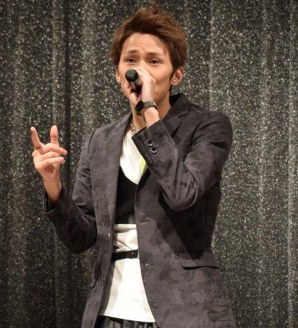 27thシングル「トーキョーフィーバー」の発売記念フリーライブを行ったLeadの古屋敬多 (C)ORICON NewS inc.