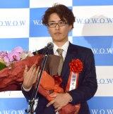 『第10回 WOWOWシナリオ大賞』で大賞を受賞した舘澤史岳氏 (C)ORICON NewS inc.