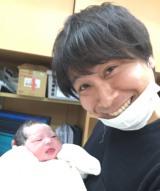 第1子が誕生したトップリードの新妻悠太