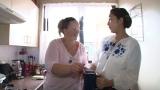 『結婚して幸せ!?世界ビックリ人間の妻たち』に出演する虻川美穂子(C)日本テレビ
