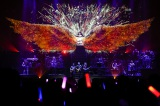 両翼全長17.7メートルの大仕掛け衣装で沸かせた水樹奈々 Photo by hajime kamiiisaka
