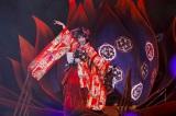 セットや演出にも日本特有の文化を取り入れた Photo by hajime kamiiisaka