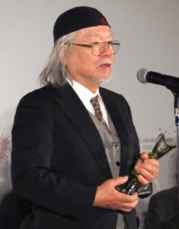 『東京アニメアワードフェスティバル2017』の授賞式に出席した松本零士氏 (C)ORICON NewS inc.