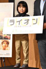 映画『LION/ライオン 〜25年目のただいま〜』の来日イベントに出席した寺田心 (C)ORICON NewS inc.