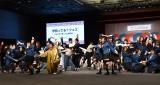 200名の参加者と「学割ってるダンス」を披露=『学割ってる?フェス〜みんなで踊って公開収録!〜』の模様 (C)ORICON NewS inc.