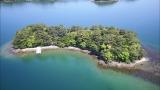 さだの故郷・長崎県、大村湾の南西に浮かぶ「詩島(うたじま)」全景(C)ABC