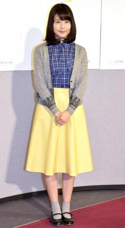 NHK連続テレビ小説『ひよっこ』の第1週完成試写会に出席した有村架純 (C)ORICON NewS inc.