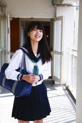 「春マン!! 2017」キャンペーンガールに抜てきされた馬場ふみか(撮影:中山雅文)