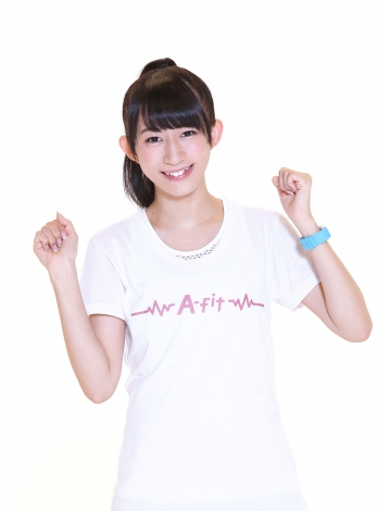 「A-fit GIRL」でQ'ulleのメンバー・やっこ