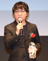 『君の名は。』小説版の初受賞に喜びを語った新海誠監督 (C)ORICON NewS inc.