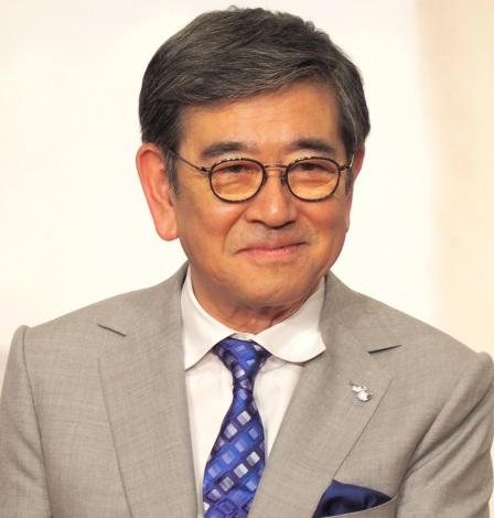 ドラマ劇場『やすらぎの郷』の制作発表記者会見に出席した石坂浩二 (C)ORICON NewS inc.