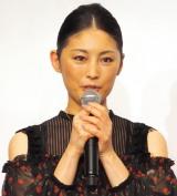 ドラマ劇場『やすらぎの郷』の制作発表記者会見に出席した常盤貴子 (C)ORICON NewS inc.