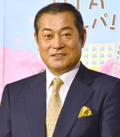 NHKプレミアムドラマ『PTAグランパ!』試写会後会見に出席した松平健 (C)ORICON NewS inc.