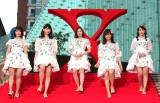 ドキュメンタリー映画『WE ARE X』の完成披露ジャパンプレミア紅カーペットイベントに出席したAKB48 (C)ORICON NewS inc.