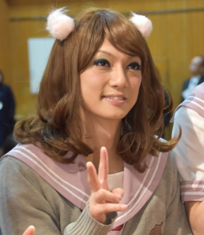 『GLAMOUROUS BUTTERFLY』のイメージキャラクターに就任記者会見に出席した喜矢武豊 (C)ORICON NewS inc.