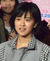 映画『サクラダリセット』の公開直前イベントに参加した黒島結菜 (C)ORICON NewS inc.