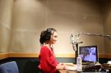 3月17日放送、テレビ東京系『ニッポンの技で世界を修理 世界!職人ワゴン』でナレーションに初挑戦した岡田結実(C)テレビ東京