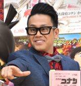 『名探偵コナン から紅の恋歌』の公開アフレコイベントに出席した宮川大輔 (C)ORICON NewS inc.