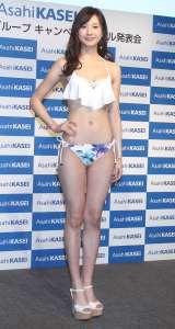 2017年旭化成グループキャンペーンモデルに就任した大伴理奈