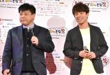 (左から)ジミー大西、中尾明慶 (C)ORICON NewS inc.