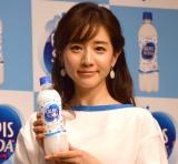 『カルピスソーダ新WEB動画』ローンチイベントに登場した田中みな実 (C)ORICON NewS inc.
