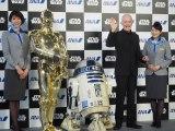 『スター・ウォーズ』に登場する金色ボディの「C-3PO」を演じるアンソニー・ダニエルズが来日 (C)ORICON NewS inc.