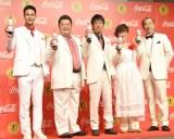 (左から)ユージ、小杉竜一、吉田敬、平野レミ、田崎真也 (C)ORICON NewS inc.