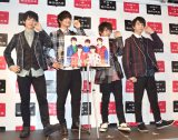 M!LKポーズを披露 (C)ORICON NewS inc.