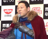 日清食品『カップヌードルナイス』のプロモーション発表会に出席した東野幸治 (C)ORICON NewS inc.