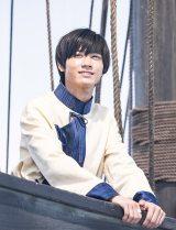 サンガル王国救出の航海に出たチャグム(第2回)。顔つきにもリアルな成長が見られる(C)NHK