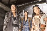 NHK・大河ファンタジー『精霊の守り人 悲しき破壊神』より。タルシュ帝国の属国となったヨゴに連行された時の服装(C)NHK