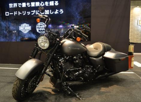 第44回東京モーターサイクルショー ハーレーダビッドソン『ROAD KING SPECIAL』