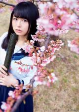 高校卒業を迎え、新しい一歩を踏み出した欅坂46・長濱ねる (C)岡本武志/ヤングマガジン