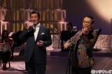 フジテレビ系『MUSIC FAIR』4月8日・15日の2週連続で加山雄三80歳記念スペシャルより。加山雄三とさだまさしが共演
