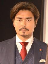 ドラマ『マッサージ探偵ジョー』の記者会見に出席した小澤征悦 (C)ORICON NewS inc.