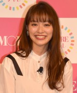 『MORE40周年記念「モアチャレ」』プロジェクト発表会に登場した内田理央 (C)ORICON NewS inc.