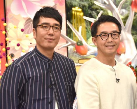 『もろもろのハナシ』に出演するおぎやはぎ(左から)小木博明、矢作兼 (C)ORICON NewS inc.